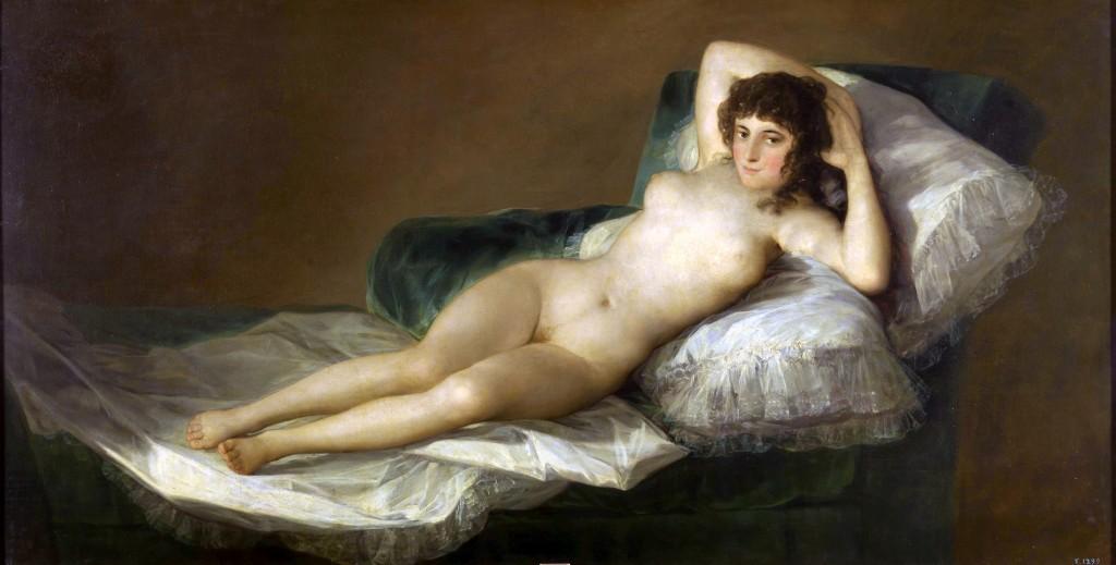 Francisco Goya's Nude Maja