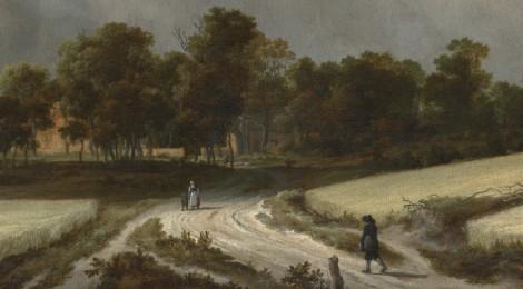 Wheat Fields by Jacob van Ruisdael