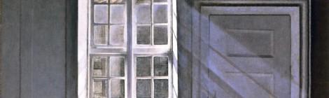 Vilhelm Hammershøi's Sunbeams