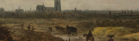Van Goyen's A View of The Hague