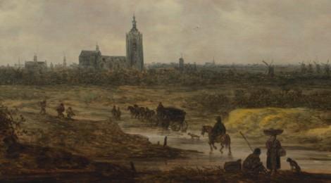 Van Goyen's A View of The Hague
